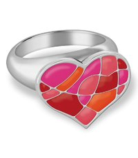 JRR028-6 Puzzle My Heart Ring