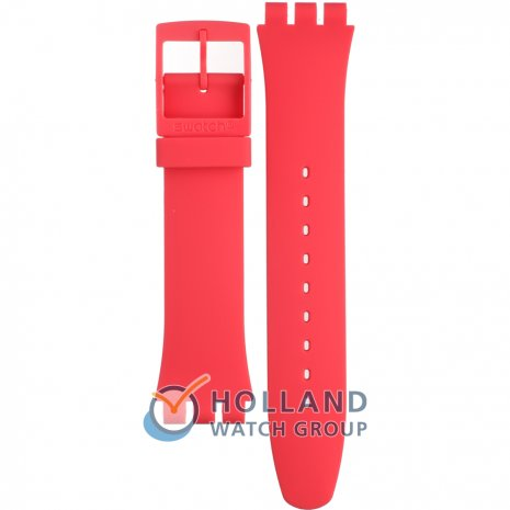 Swatch SUOP702 Berry Rail ストラップ