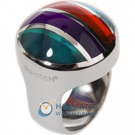 Swatch Bijoux Color Cut Multicolor Ring リング