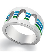 JRS038-5 Juicy Dance Blue Ring