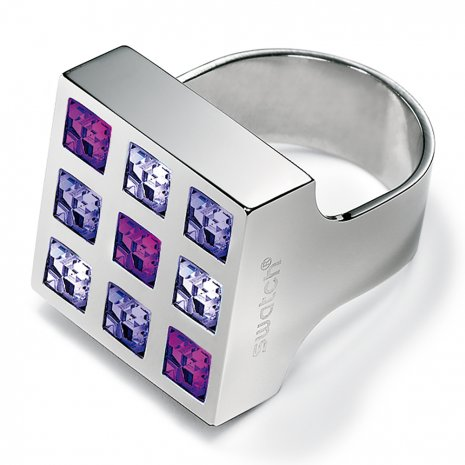Swatch Bijoux Prismatic Purple Crystals Ring リング