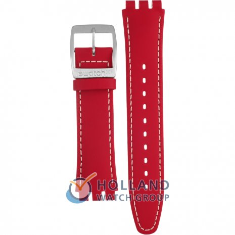 Swatch YWS403 Caterhred ストラップ