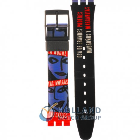 Swatch GB181 Sueno Madrileno ストラップ