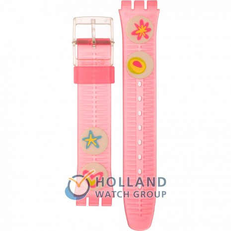 Swatch GE177 Pink Candy ストラップ