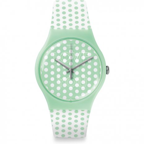 Swatch Mint Love 時計