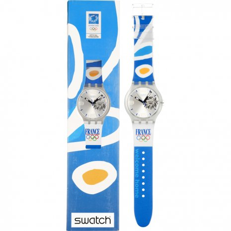 Swatch NOC Athens 2004 France 時計