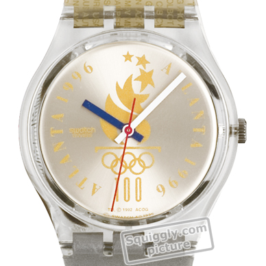Swatch Olympic Team Indonesia 時計