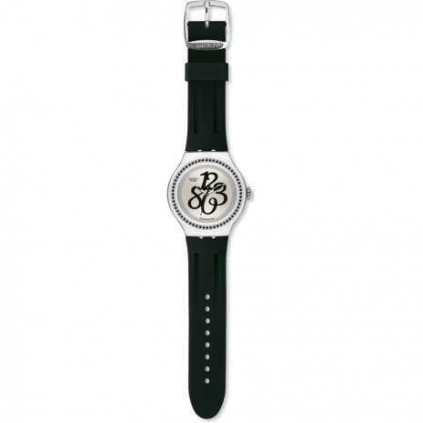 Swatch Pearly Gloss Black 時計
