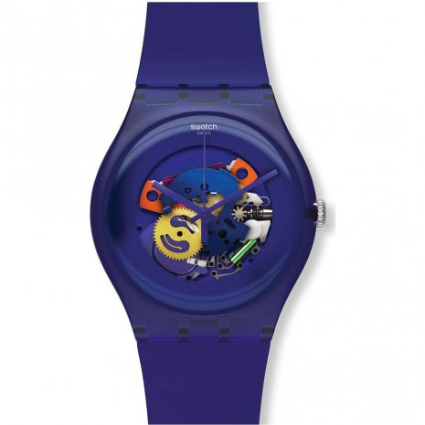 Swatch Purple Lacquered 時計