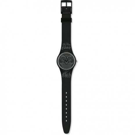 Swatch Time Never Dies Black 時計