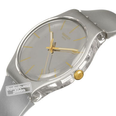 Silver New Gent Christmas watch 秋冬 コレクション Swatch