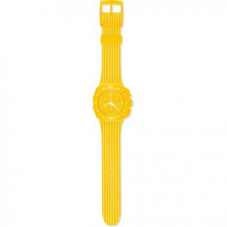 Swatch Yellow Run 時計